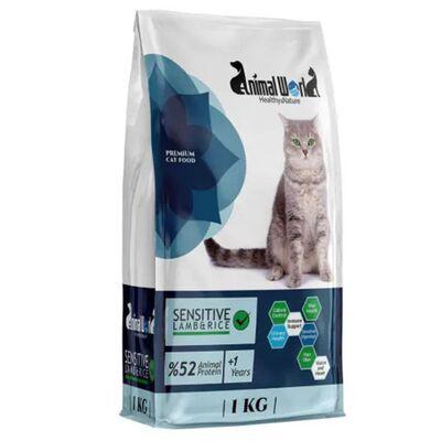Animal World Premium Sensitive Kuzu Etli Yetişkin Kedi Maması 1 Kg