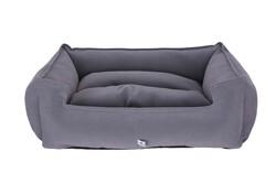 Petix Bed - Petix Bed Plus Mikro Fiber Kumaş Yatak Gri