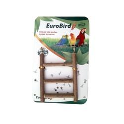 EUROBIRD - EuroBird Doğal Ahşap Kuş Oyuncağı Merdiven