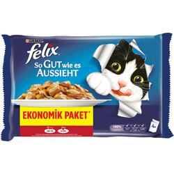 Felix - Felix Sığır Etli Yetişkin Kedi Konservesi