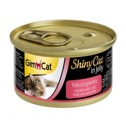 Gımpet - Gimpet Tavuk Etli Yengeçli Konserve Kedi Maması