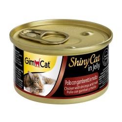 Gımpet - Gimpet Tavuklu Karidesli Ve Malt Özlü Konserve Kedi Maması
