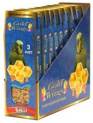 Gold Wings - Gold Wings Muhabbet Kuşları İçin Ballı Kraker