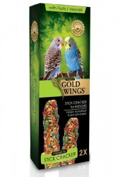 Gold Wings - Gold Wings Premium Muhabbet Kuşları İçin Meyveli Kraker