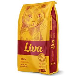 Liva - Liva Tavuk Etli Kedi Maması % 100 Yeme Garantili Ürün