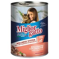 Mıglıor Gatto - Mıglıor Gatto Somonlu Kedi Konservesi