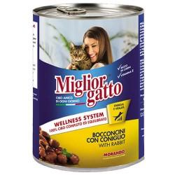 Mıglıor Gatto - Mıglıor Gatto Tavşanlı Kedi Konservesi