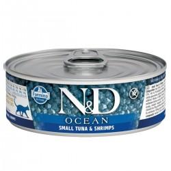 N&D - N&D Ocean Ton Balıklı Karidesli Yetişkin Kedi Konservesi