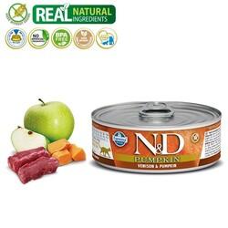 N&D - N&D Pumpkin Geyik Etli Tahılsız Yetişkin Kedi Konservesi