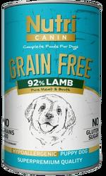 Nutri - Nutri Canin Kuzu Etli Patatesli Tahılsız Yavru Köpek Konservesi