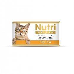 Nutri Feline - Nutri Feline Sığır Etli Tahılsız Yetişkin Kedi Konservesi