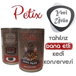 Petıx - Petix Tahılsız Dana Etli Püre Kedi Konservesi 400 gr