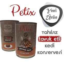 Petıx - Petix Tahılsız Tavuk Etli Kedi Konservesi 400 gr