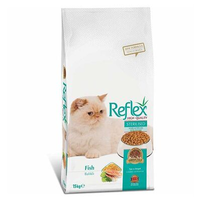 Reflex Balıklı Kısırlaştırılmış Yetişkin Kedi Maması 15 Kg